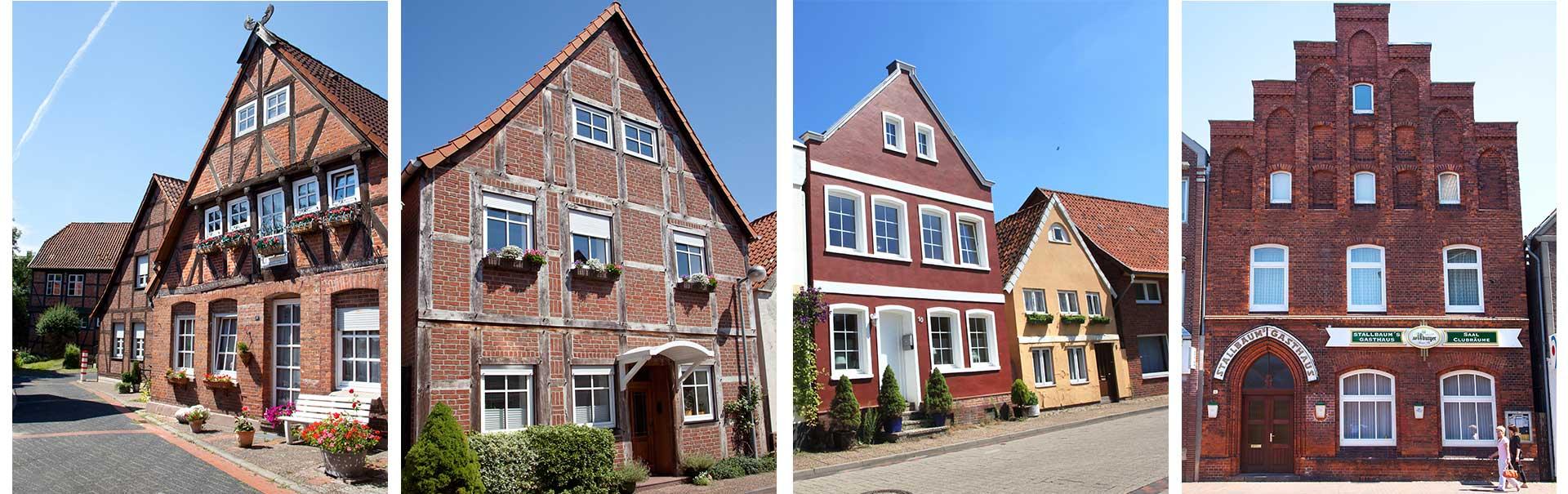 Collage 3 - Häuser
