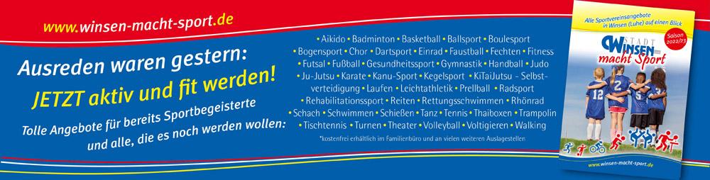 Startseite Sportbroschüre
