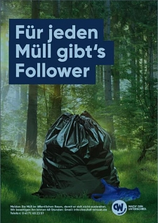 Müll-Follower © Stadt Winsen (Luhe)